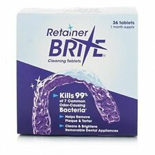 Retainer Brite Dental Cleaning Tablets - 36 Pieces