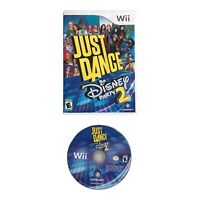 Just Dance Disney Party 2 Nintendo Wii 2015 Tested and Working Case & Disc Only