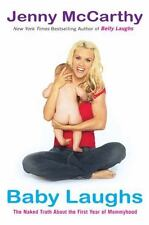 BABY LAUGHS by Jenny McCarthy FREE SHIPPING paperback book first year parenting