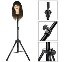 Adjust Tripod Stand Holder Hairdressing Pratice Head Mold Mannequin Holder T6L9