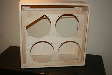 rawcabs super reverb 4x10 unfinished empty pine combo cabinet project
