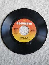 CHERYL LYNN - IF YOU'LL BE TRUE/ IN THE NIGHT 45 Columbia 1981