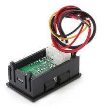 4 Bit 0-33V 3A DC Voltmeter Ammeter Digital LED Dual Display Amp Volt meter New