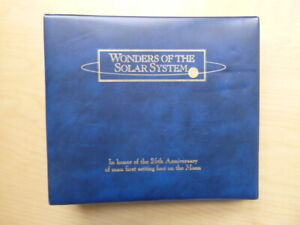Marshall Islands 1994 Wonders of the Solar System, BU $10 & 1st Day Cover Set
