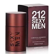 212 SEXY MEN de CAROLINA HERRERA - Colonia / Perfume 50 mL Hombre / Uomo CH NYC