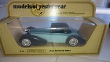 Models Of Yesteryear Y17 1938 Hispano Suiza Blue