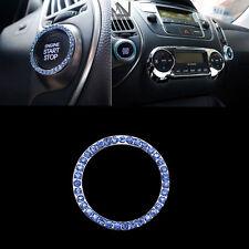 Voiture Décorative Bleu Bouton Commutateur de Démarrage Auto Accessoires Mode