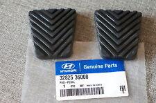 2x OEM Hyundai Brake & Clutch Pedal Pad Cover Accent Sonata Santa Fe