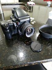 Mamiya 645 Pro Medium Format SLR Film Camera with 55mm lens and AE prism