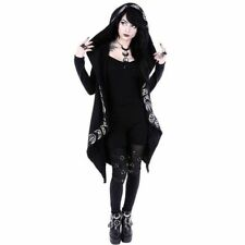 Girls Gothic Casual Jacket Magic Witch Wizard Cosplay Hoodie Sweatshirt Coat