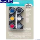 Testors 281224 6- Primary Color Acrylic Paint Pod Set