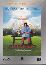 Dvd **LITTLE NICKY** con Adam Sandler nuovo slipcase 2001