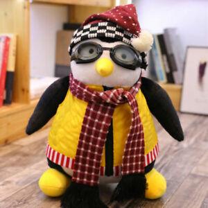 27cm Joeys Friend HUGSY Plush Penguin Animal Stuffed Toys Kids Birthday Gifts UK