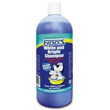 Fido's WHITE & BRIGHT SHAMPOO 1L For Puppies, Kittens, Dogs & Cats *Aust Brand