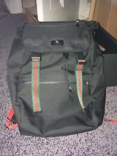 Gucci Web-stripe Backpack, 100% Polyester