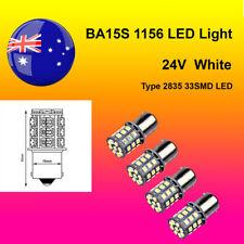 4 x 24V BA15S(1156) Super Bright White Car Auto Light 2835 33SMD LED Brake/Turn