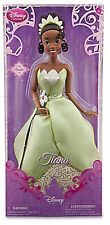 "Disney Store Princess And The Frog Tiana 12"" Classic Doll New"