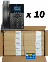 *10 PACK* Polycom VVX 250 IP Phone (2200-48820-025) - Brand New, 1 Year Warranty