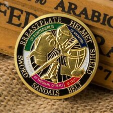 2x Put on the Whole Armor of God Commemorative Challenge Coin Collection Gift MY