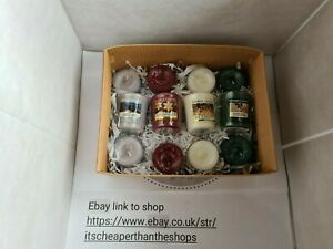 Yankee candle christmas gift set.....votives & tea lights💕💓