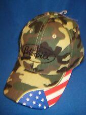 PETERBILT HAT / TRUCKER CAP / CAMO AMERICAN FLAG CAP     *FREE SHIP IN U.S.A.*