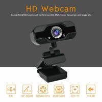 USA 1080P HD USB Webcam Camera Laptop Autofocus Video With Microphone Calling A+