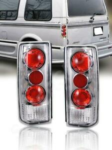 Set of Chrome Taillights for 1985-2005 Chevy Astro Van and GMC Safari New BNIB