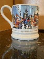 More details for emma bridgewater year in the country winter scene 1/2 pint mug 2nd new free p&p