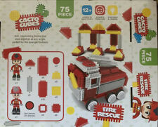 Selection Of Bricks From Fire Rescue Cacto Cubes Building Blocks Sticklebricks