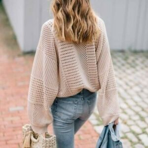 Anthropologie Moth Reese Kimono Pullover Sweater M