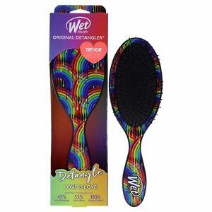 Wet Brush Original Detangler Pride Hair Brush - Rainbow Drizzle for Unisex- 1 Pc
