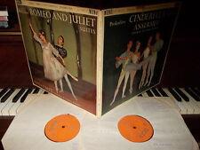 PROKOFIEV: Romeo and Juliet + Cinderella suites > Ansermet / Decca LXT mono UK