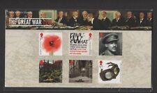GB 2018 FIRST WORLD WAR 1918 STAMP PRESENTATION PACK