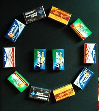 OFFER ON 120 mixed INDIAN Double Edge Safety DE Razor Blades sample pack ....!!