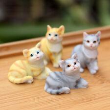 X1PCS RANDOM Cute Cat Animal Miniature Fairy Garden Home Houses Decoration