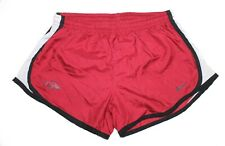 Nike Dri Fit Arkansas Razorbacks Lined Running Shorts Juniors Size L 12-14