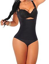 Camellias women Seamless Firm Body Control Bodysuit Thong Body Shaper Slimmer