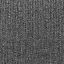 Cotelé Ripp Jersey einfarbig dunkelgrau meliert