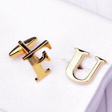 "Gold ""F U"" Conor McGregor Inspired Cuff Links Men's Luxury Fashion Cufflinks B2B"