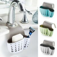 Sink Shelf Soap Sponge Drain Rack Bathroom Kitchen Holder Storage Cup Suction Ne