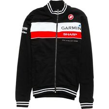 Castelli Garmin Mens XL Track Jacket Apres Road Cycling Racing Biking Nwt