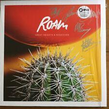 "Roam - Great Heights & Noisedives 12""  Coloured Splattered  Vinyl Lp Signed"