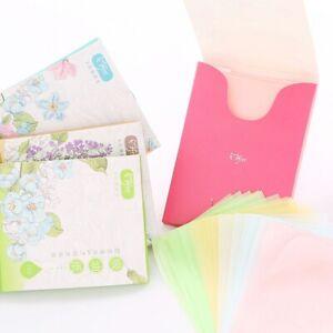 Universal summer facial oil-absorbent tissue refreshing skin oil-absorbing paper