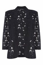 Formal Floral Coats & Jackets without Fastening for Women