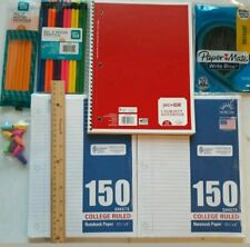 School Supplies Essentials Bundle Pack # 2A