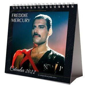 Freddie Mercury 2022 Desktop Calendar NEW Desk