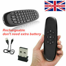 2.4GHz Wireless Kodi Remote Air Mouse Keyboard Controller for Android HD TV Box