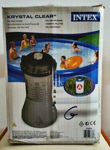 intex pompa filtro per piscina Grigio, 1.7 m3ora