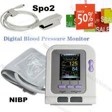 NIBP Adult Spo2 Digital Blood Pressure Monitor, PC Software, FDA CE