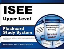 ISEE Upper Level Flashcard Study System: ISEE Test Practice Questions & Review f